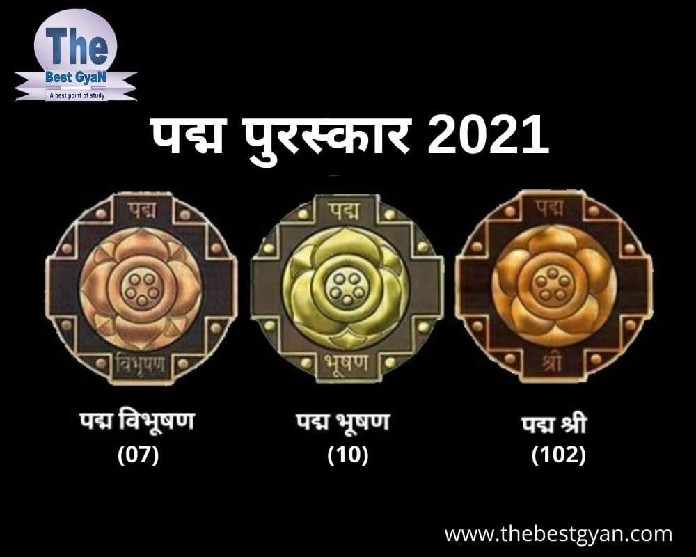 Padma Award 2021 (Full List)